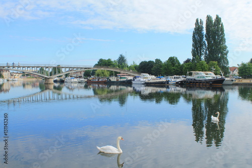 Auxerre ville d 39 art et d 39 histoire france photo libre for Tarif piscine auxerre