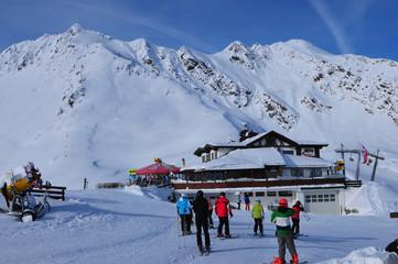 Austria: Der Wintersportort Sölden im Tirol
