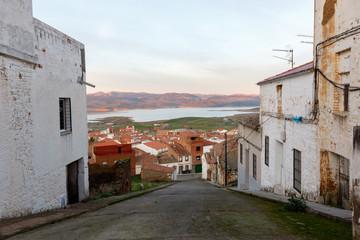 Calles de pueblos pequeños