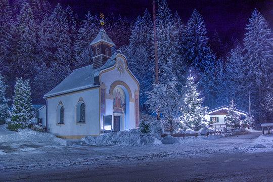 Kapelle in Hammersbach