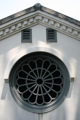 Round Window - Oura Church, Nagasaki, Japan