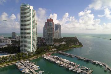 Aerial image Miami Beach Marina