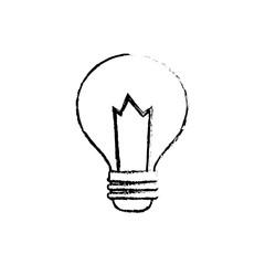 Bulb light energy icon vector illustration graphic