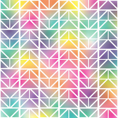 geometrical rainbow colored  background pattern image background pattern image vector illustration design