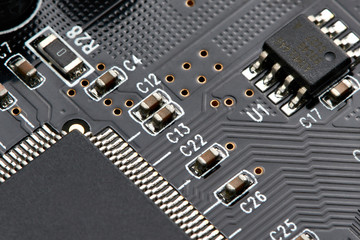 Elements of electronic board
