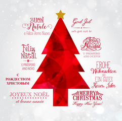 Merry Christmas in the world
