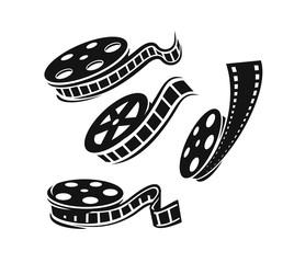 Film roll vector