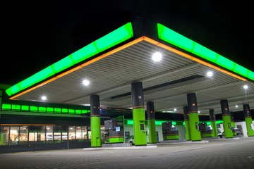 Green filling station