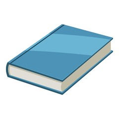 Book icon. Cartoon illustration of book vector icon for web design