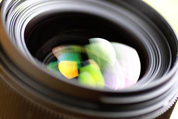 lens color reflection photo