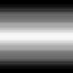 Horizontal parallel black stripes on a white background. Vector illustration EPS10. Halftone gradient lines.