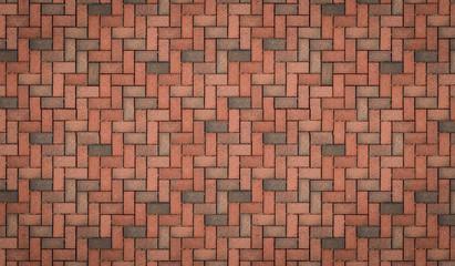 Mauer aus Steinen mit Muster