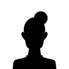 Silhouette - Frau