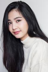 Beautiful Smiling asian Woman.