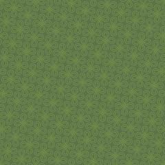 Neutral Seamless Linear Flourish Pattern in Kale color.