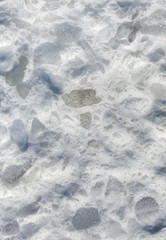 chunks of ice and snow texture