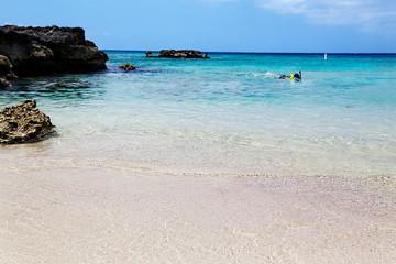 Snorkeler exploring Smith Cove, Grand Cayman