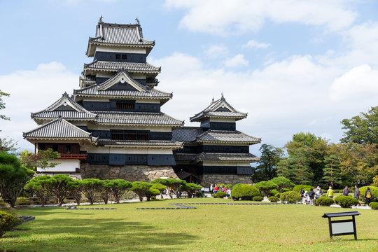 Matsumoto Castle and garden