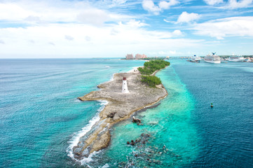 Bahamas Nassau Caribbean sea sky Beautiful nature landscape
