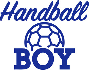Handball boy