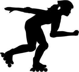 Female inline Skater