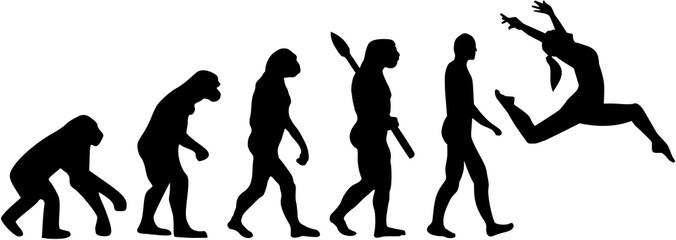 Jazz dance evolution