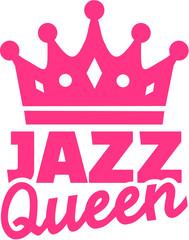 Jazz dance queen with crown