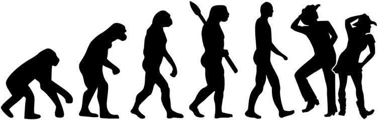 Line dance evolution