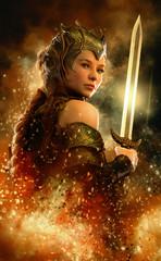 Fire Sword, 3d CG