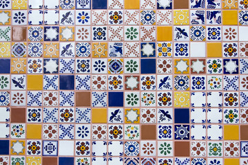 Mexican handmade ceramic tiles