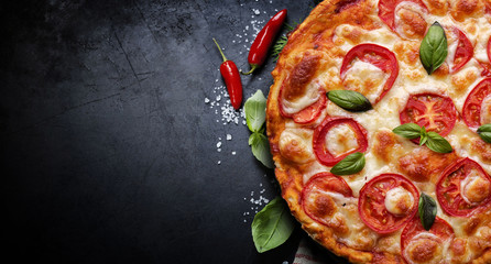 Photo sur Plexiglas Pizzeria pizza 34