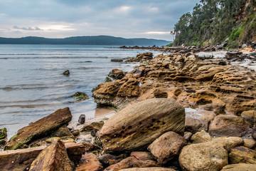 Rocky Daybreak Waterscape