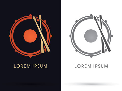 Drum, Snare graphic vector.