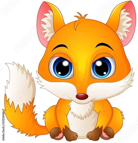Enchanting Photos Of Adorable Baby Foxes  |Vector Cute Baby Fox