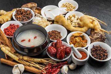 朝鮮人参 漢方 薬膳 健康食 Chinese medicine and ginseng