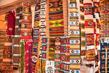 Traditional Mexico  handmade rugs ,Oaxaca, Mexico.