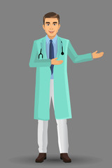 Surgeon or Specialist Doctors, Vector illustration