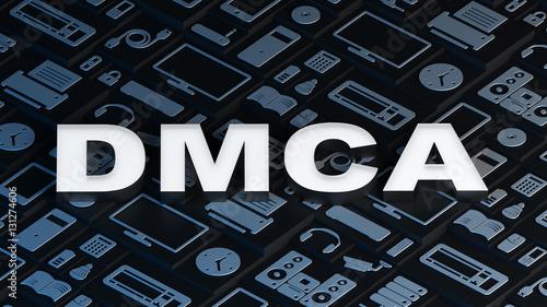 "Dmca: Digital Millennium Copyright Act"" Stock Photo And"