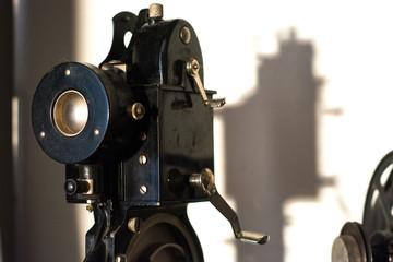 Vintage film camera projector