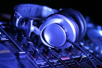 Headphone and DJ control gear