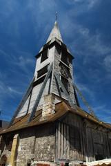 Clocher de l'église Sainte-Catherine de Honfleur, Normandie