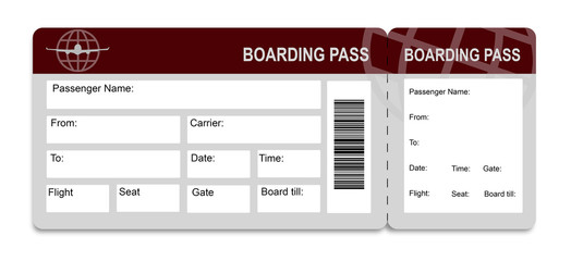 "Photos, illustrations et vidéos de ""boarding pass"""