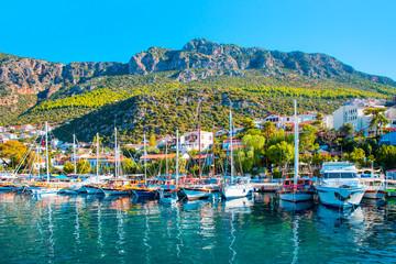 Foto op Aluminium Turkije resort town, Kas Antalya