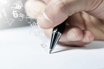scrivere, calcolare, contare, economia