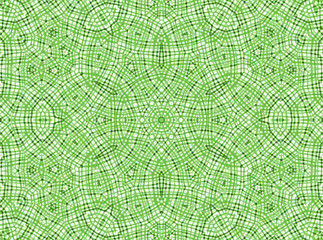 Abstract background with green pattern