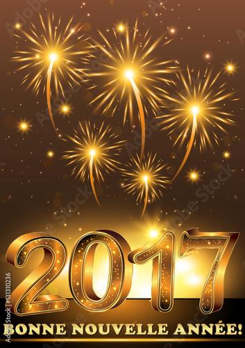 Fabuleux Bonne Nouvelle Année 2017! - Carte de voeux pour le nouvel an  HP41