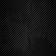 Black striped grunge metal background. Abstract vector illustration