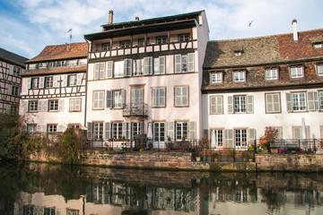 Scorcio di Strasburgo in Francia