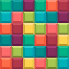 Geometric background. Style Tetris game.