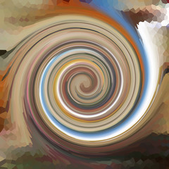Swirls of digital paint suitable as background for projects